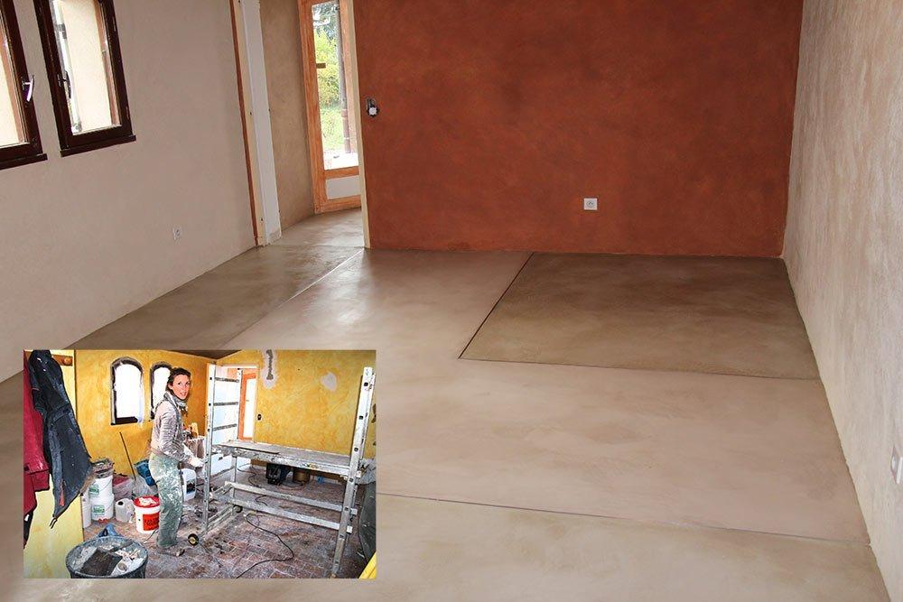 entrprise-sol-en-beton-cire-contemporain - Les Ateliers de Vérone