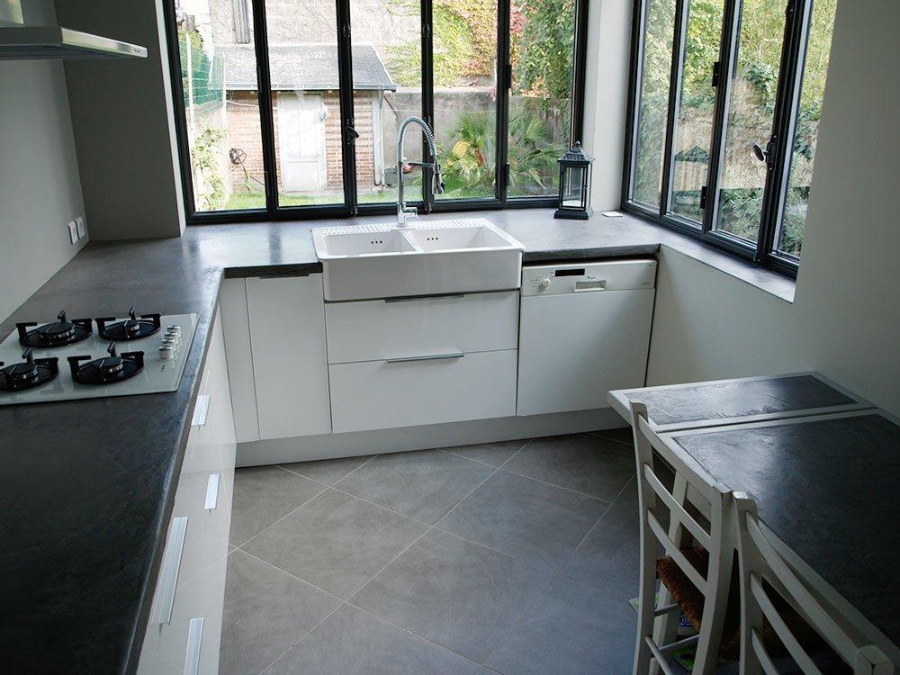 Plans De Travail Beton Cire Entreprise Les Ateliers De Verone